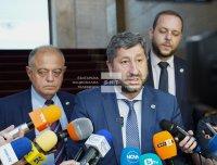 """""""Демократична България"""" след консултациите при Радев: Имаме волята да дадем принос за излъчване на правителство"""