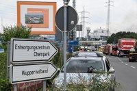 снимка 4 Експлозия в химически завод в Германия (Снимки)