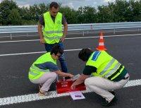 """Експерти спорят за маркировката по ремонтирания участък на """"Тракия"""""""