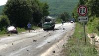 Тежка катастрофа взе жертви и затвори пътя София-Варна