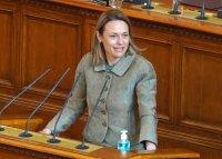 Ива Митева беше избрана с подкрепата на 137 депутати за председател на НС