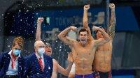 САЩ защити олимпийското злато в щафетата на 4 по 100 свободен стил