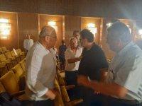 Бой на общински съветници в Шумен (ВИДЕО)