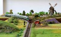 Уникални макети показват железниците в умален мащаб (Снимки)