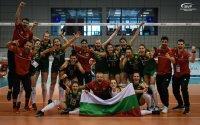 Кузманов поздрави бронзовите медалистки от ЕвроВолей до 16 г.