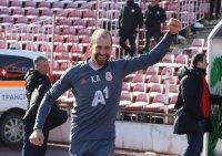 Кондиционният треньор на ЦСКА обяви, че сам е напуснал поста