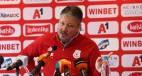 Любо Пенев: Аз и отборът имаме подкрепата на Гриша Ганчев