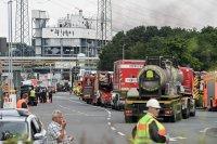 снимка 1 Експлозия в химически завод в Германия (Снимки)