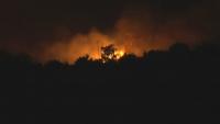 Продължава гасенето на големия пожар край Свиленград