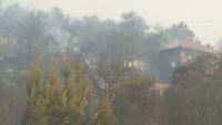 Три пожара горят в Кюстендилско