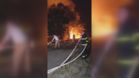 Огнен ад в Кюстендилско: Разраства се пожарът в Ломница, овладяна е стихията в Долно село