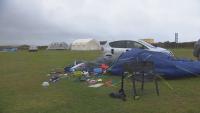 Силна буря връхлетя Южна Англия