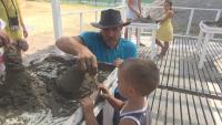 Скулптури от пясък: Работилница за деца в Бургас