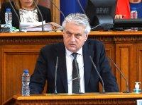 Бойко Рашков в НС: Има завишен миграционен натиск