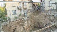 Повече от два месеца продължава ремонтът на централни улици в Благоевград