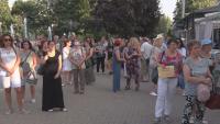 В Хасково протестират срещу поскъпването на водата