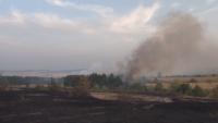Локализирани са пожарите в Хисарско, продължава борбата с огъня край село Петрово