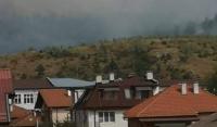 Мирис на дим във Велинград заради горските пожари