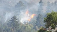 Частично бедствено положение заради пожари около Велинград