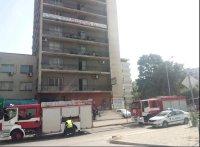 Пожар горя в стая над частен старчески дом в Пловдив