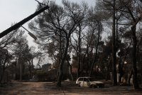МВнР: Няма данни за пострадали българи при пожарите край Атина и в други райони на Гърция