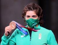 Тайбе Юсеин е бронзова медалистка след скоростен туш за 56 секунди