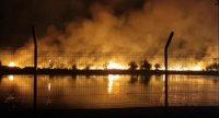 Овладян е големият пожар край Кадиево