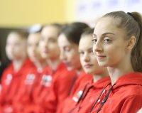 Контролно за гимнастичките ни и в Мураяма