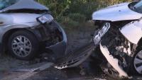 Тежка катастрофа с две деца затвори главния път София - Варна (ВИДЕО)