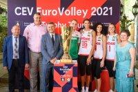 Състав на България и програма за Европейското по волейбол за жени