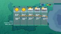 Температурите тръгват нагоре от утре