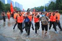 21 жертви на наводненията в провинция Хубей, 6000 са евакуирани