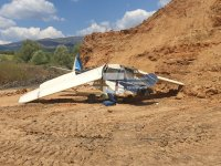 Самолет се разби край село Мирково
