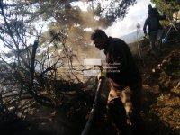 Продължава борбата за потушаването на пожара в Рила