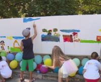 Децата на Варна сътвориха най-дългата рисунка