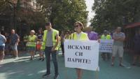 """Служители на """"Автомагистрали - Черно море"""" отново на протест заради неизплатени средства"""