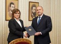 """Президентът връчи третия мандат на """"БСП за България"""". Нинова: Ще опитаме всичко"""