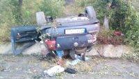 29-годишен мъж загина при тежка катастрофа на пътя Бургас - Созопол (Снимки)
