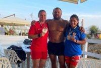 Оряшкова и София Георгиева със сребро на плажна борба