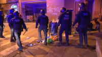 Полицията разпръсна над 3000 нарушители на ограниченията в Барселона