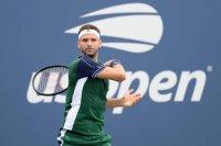Григор Димитров: Не исках участието ми на US Open да приключи по този начин