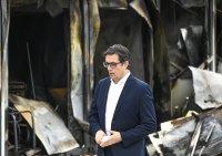 Президентът изпрати съболезнователно писмо до Стево Пендаровски след пожара в Тетово