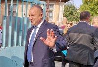 Радев: Ясен е съставът на служебното правителство, ще го обявя утре