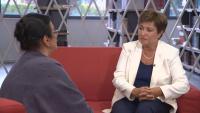 Кристалина Георгиева пред БНТ: Виждаме шанс да коригираме траекторията на икономическото развитие