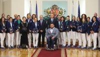 Румен Радев награди олимпийските и параолимпийските медалисти от Токио