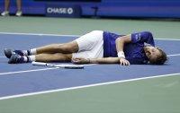 """Отпразнуването """"мъртва риба"""" и подаръкът за Даша от победителя на US Open"""
