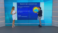 Синоптик: Очаква се затопляне, на първия учебен ден ще е слънчево