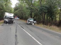 Тежка катастрофа затвори главния път Бургас - Приморско