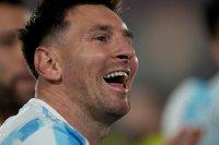 Лионел Меси отново блесна за Аржентина и задмина Пеле