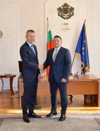 Христо Алексиев прие управлението на Министерството на транспорта от Георги Тодоров